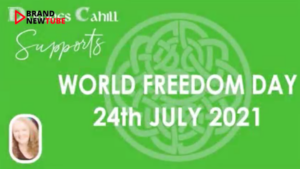 Supporting World Freedom Day 2021