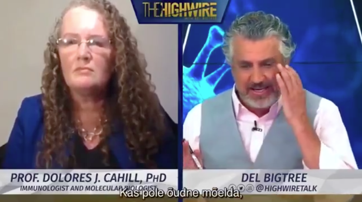 Del Bigtree asks Prof. Dolores Cahill why Covid-19 Vaccine will be so Dangerous